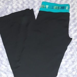 Reversible yoga pants. Large. Tall. Bell bottoms
